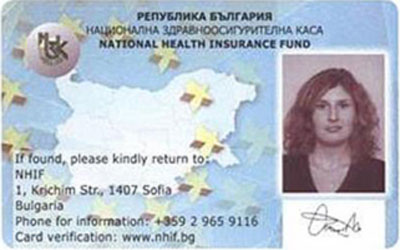 Vzobnovyavat Izdavaneto Na Evropejski Zdravnoosiguritelni Karti V